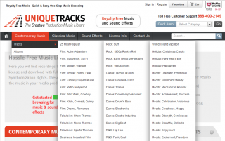 UniqueTracks-X-Cart-Shopping-site-
